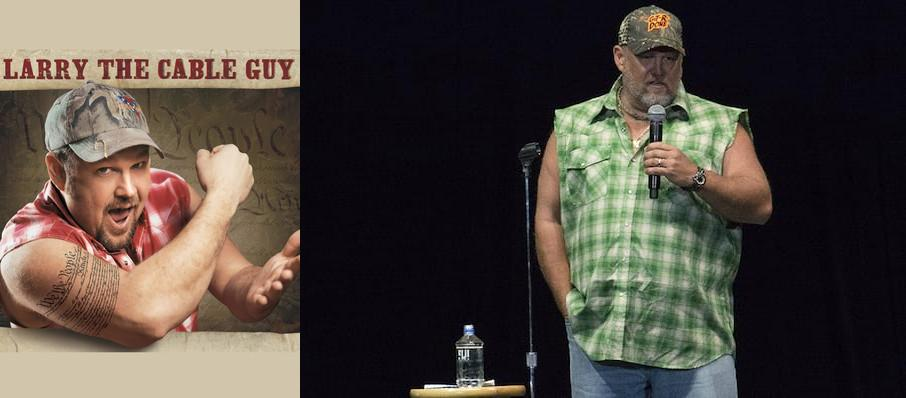 Larry The Cable Guy at Riverside Theatre