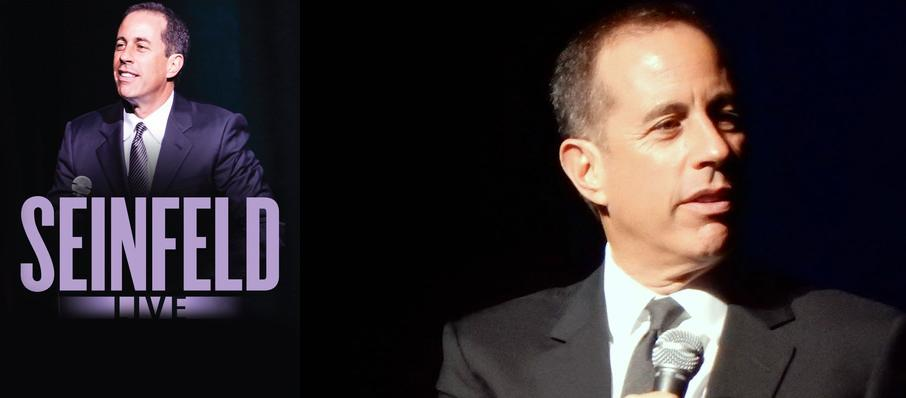 Jerry Seinfeld at Riverside Theatre