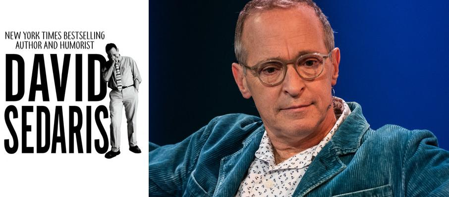David Sedaris at Riverside Theatre