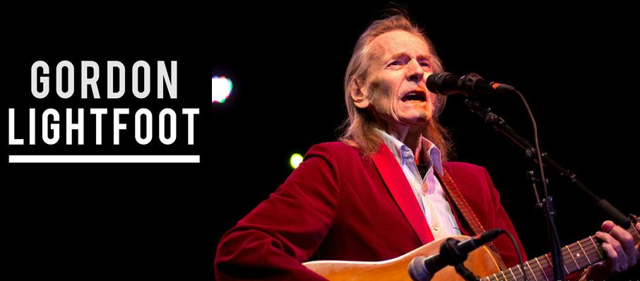 Gordon Lightfoot at Pabst Theater