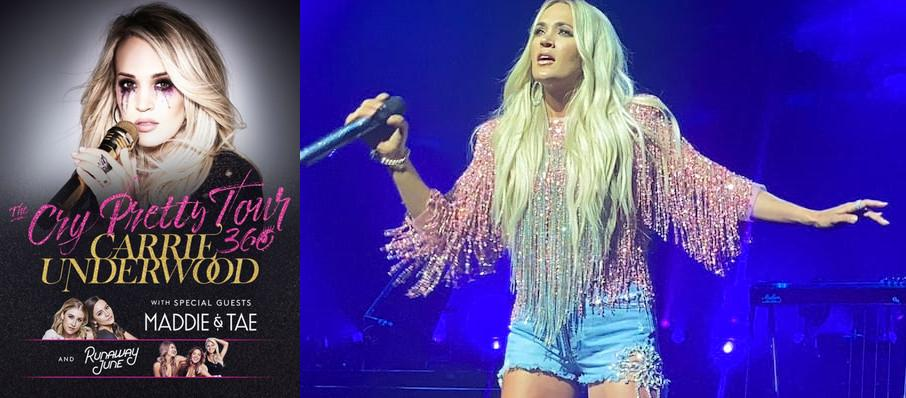 Carrie Underwood at Wisconsin Entertainment and Sports Center