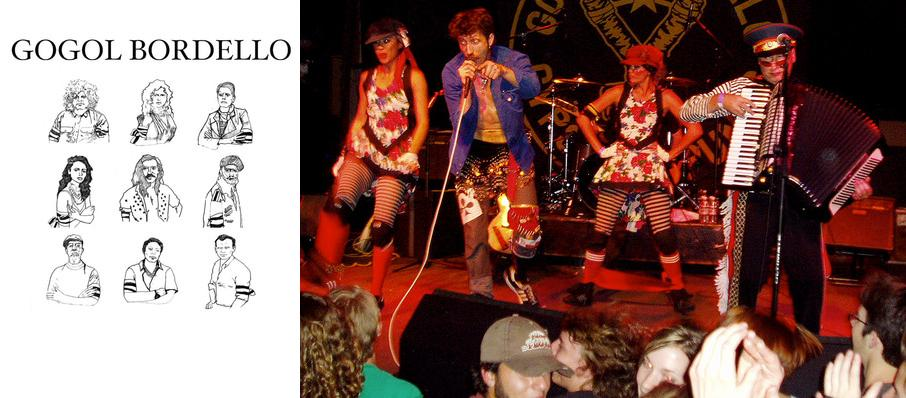 Gogol Bordello at Turner Hall Ballroom