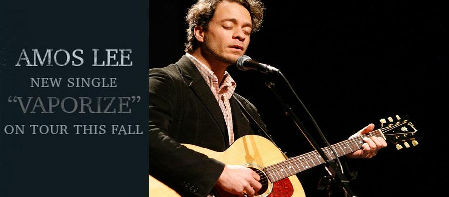 Amos Lee at Riverside Theatre