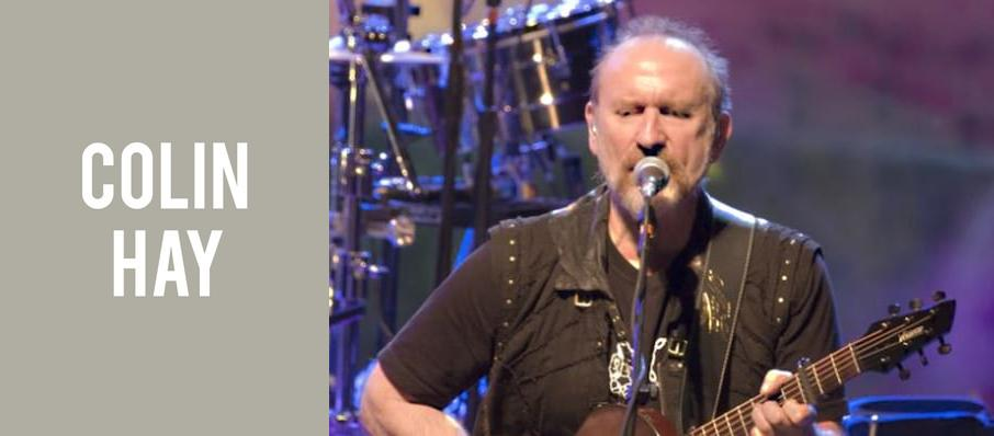 Colin Hay at Pabst Theater