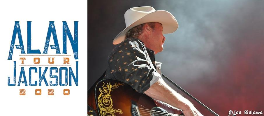 Alan Jackson at Fiserv Forum