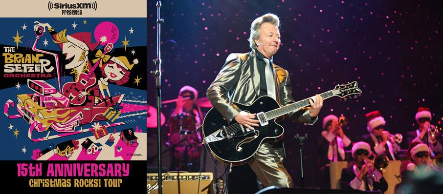 Brian Setzer Orchestra: Christmas Rocks at Riverside Theatre
