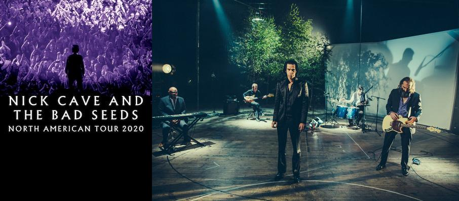 Nick Cave and The Bad Seeds at Miller High Life Theatre