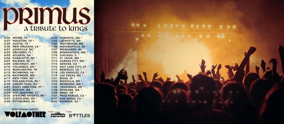 Primus at BMO Harris Pavilion