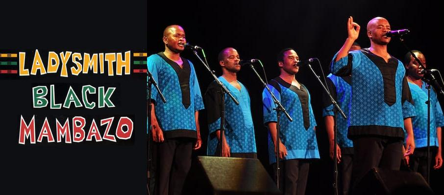 Ladysmith Black Mambazo at Pabst Theater