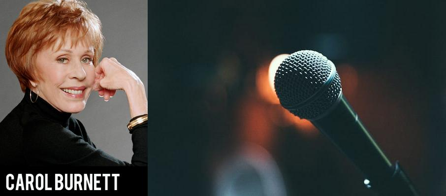 Carol Burnett at Riverside Theatre