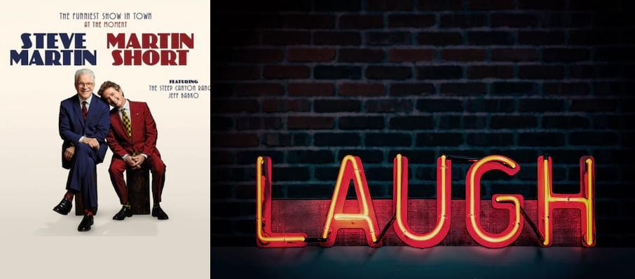 Steve Martin & Martin Short at Riverside Theatre