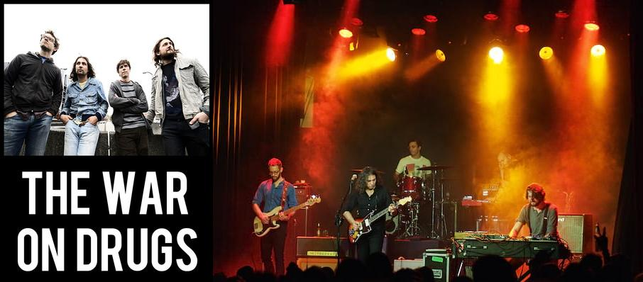The War On Drugs at Riverside Theatre