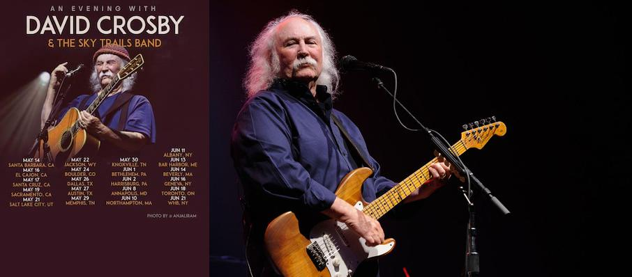 David Crosby at Pabst Theater