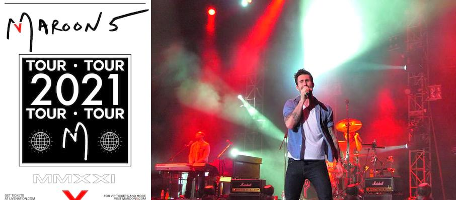 Maroon 5 at American Family Insurance Amphitheater