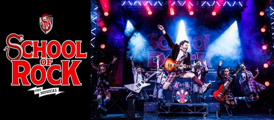 School of Rock at Uihlein Hall