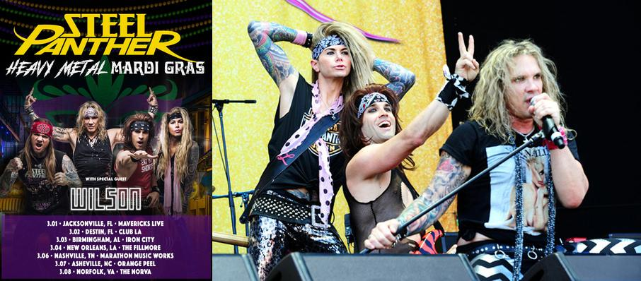 Steel Panther at Eagles Ballroom