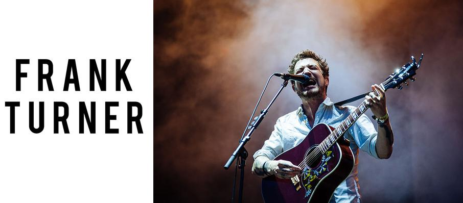 Frank Turner at Pabst Theater