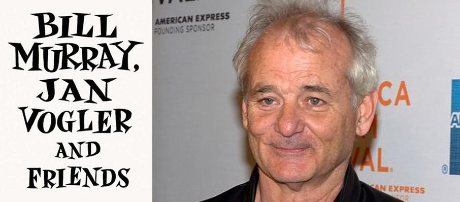 Bill Murray, Jan Vogler and Friends at Riverside Theatre