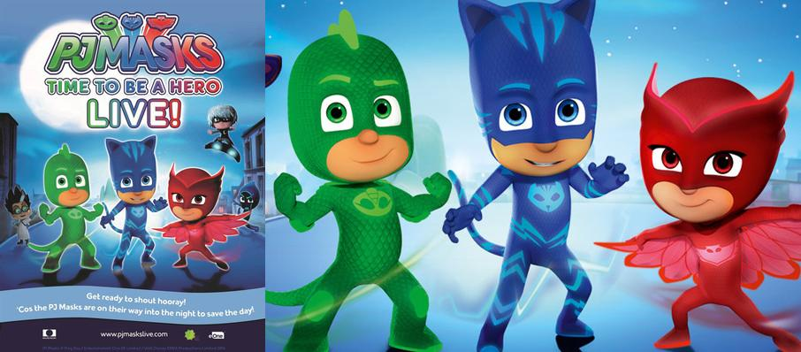 PJ Masks Live! Time To Be A Hero at Riverside Theatre