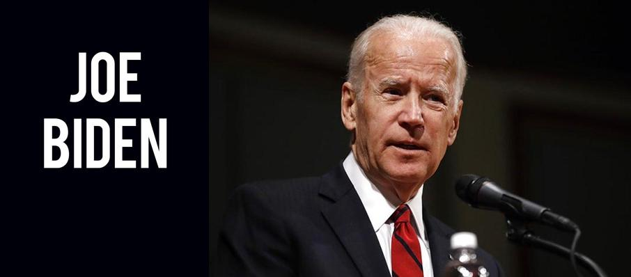 Joe Biden at Riverside Theatre
