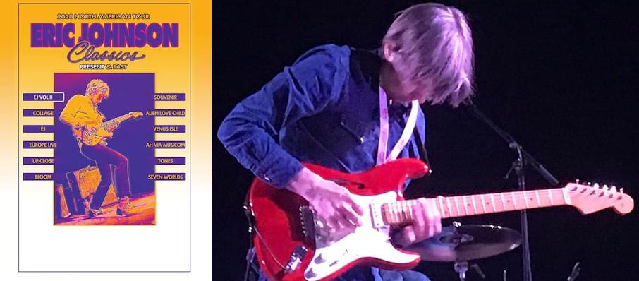 Eric Johnson at Turner Hall Ballroom