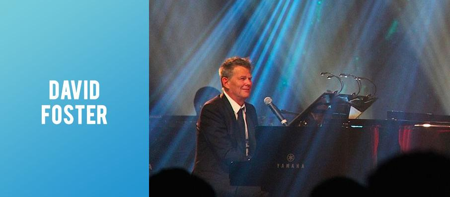 David Foster at Pabst Theater
