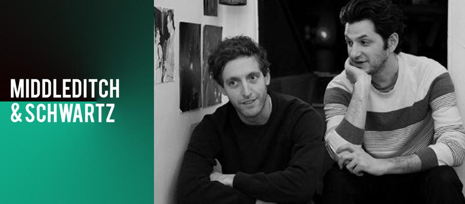 Middleditch and Schwartz at Pabst Theater