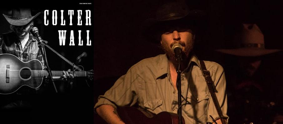 Colter Wall at Turner Hall Ballroom