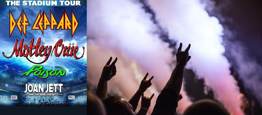 Motley Crue and Def Leppard with Poison at Miller Park