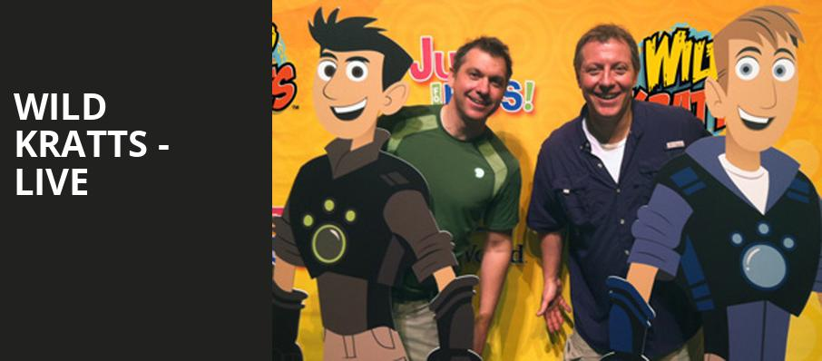 Wild Kratts Live, Riverside Theatre, Milwaukee