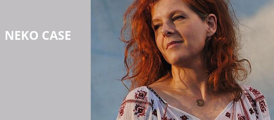 Neko Case, Pabst Theater, Milwaukee