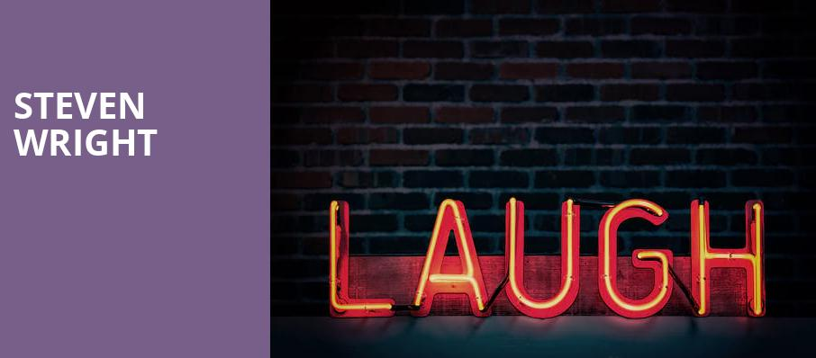 Steven Wright, South Milwaukee Performing Arts Center, Milwaukee
