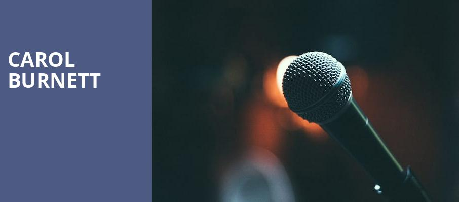 Carol Burnett, Riverside Theatre, Milwaukee