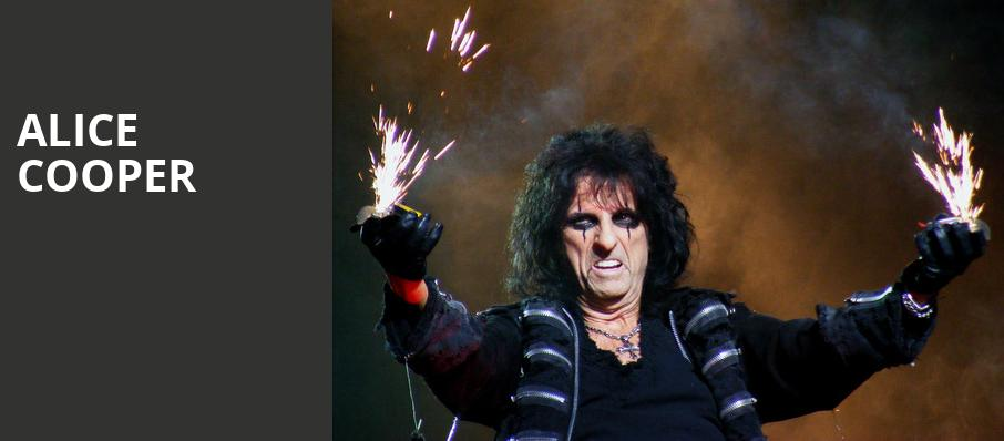 Alice Cooper, Miller High Life Theatre, Milwaukee