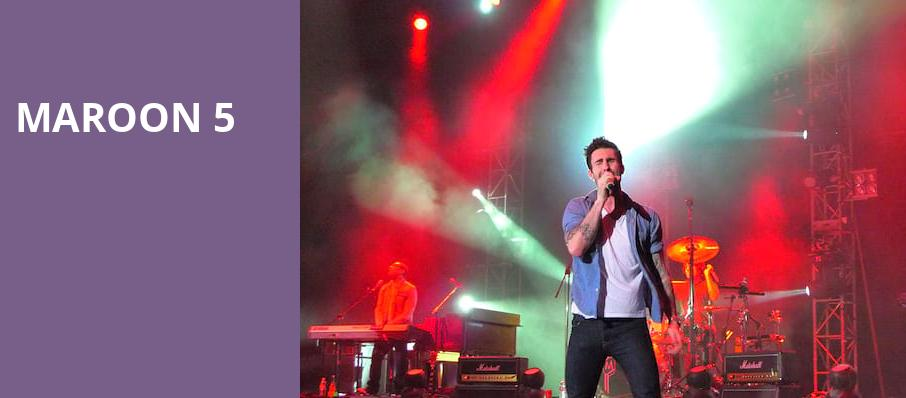 Maroon 5, Wisconsin Entertainment and Sports Center, Milwaukee