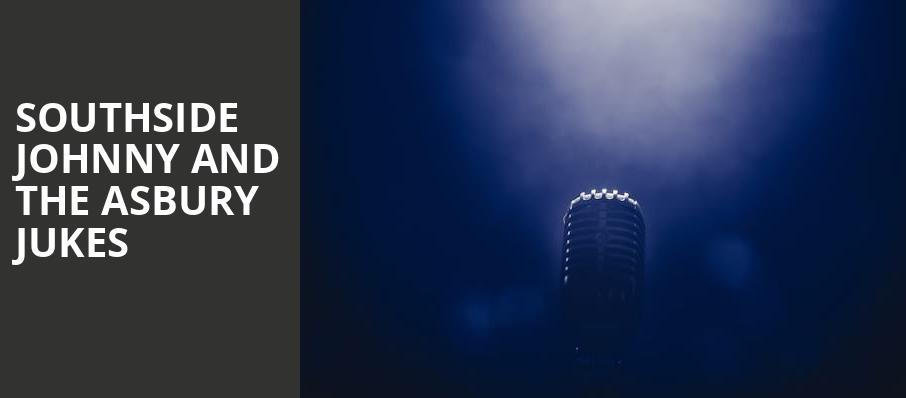 Southside Johnny and The Asbury Jukes, Northern Lights Theatre, Milwaukee