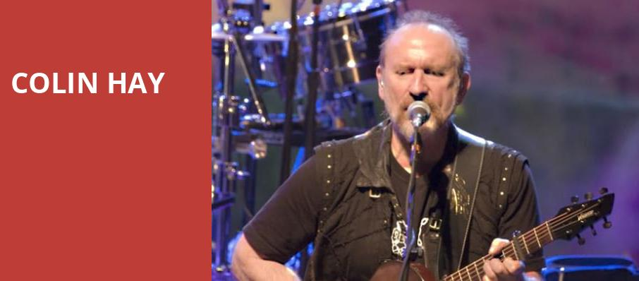 Colin Hay, Pabst Theater, Milwaukee