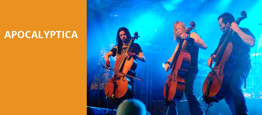 Apocalyptica, Pabst Theater, Milwaukee